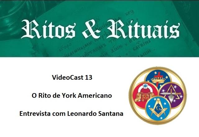 VideoCast 13 – O York Americano – Entrevista com Leonardo Sant'Anna