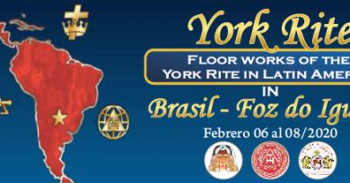 1º Jornada de Trabalhos de Chão dos Graus Capitulares do Rito de York da América Latina